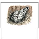 Nesting Pigeons Yard Sign