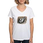 Nesting Pigeons Women's V-Neck T-Shirt