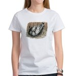 Nesting Pigeons Women's T-Shirt
