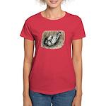 Nesting Pigeons Women's Dark T-Shirt