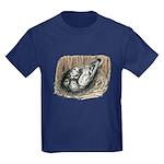 Nesting Pigeons Kids Dark T-Shirt