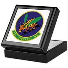 47th Fighter Squadron Keepsake Box