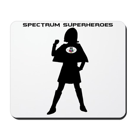 Spectrum Superhero Mousepad