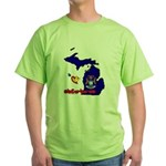 ILY Michigan Green T-Shirt