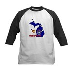 ILY Michigan Kids Baseball Jersey