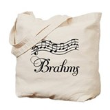 Musical Brahms Tote Bag