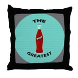 Greatest Pop Throw Pillow