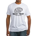 Brain Trust Fitted T-Shirt
