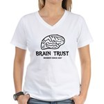 Brain Trust Women's V-Neck T-Shirt