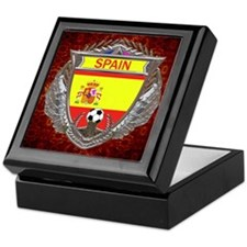 Spain Soccer Keepsake Box