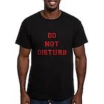 Do Not Disturb Men's Fitted T-Shirt (dark)
