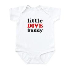little dive buddy Infant Bodysuit