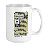 """Reagan: Freedom's Extinction"" Mug"