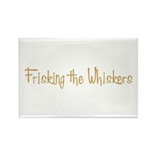 Frisking the Whiskers Rectangle Magnet (100 pack)