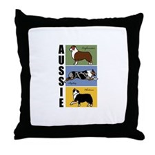 Aussie's Do It All Throw Pillow