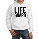 Life Guard (black) Hooded Sweatshirt