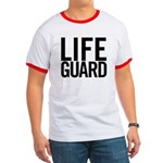 Life Guard (black) Ringer T