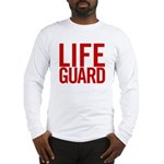 Life Guard (red) Long Sleeve T-Shirt