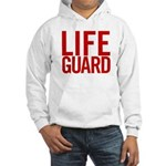 Life Guard (red) Hooded Sweatshirt