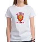 San Francisco Fire Department Women's T-Shirt