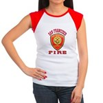 San Francisco Fire Department Women's Cap Sleeve T