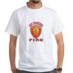 San Francisco Fire Department White T-Shirt