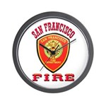 San Francisco Fire Department Wall Clock