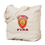 San Francisco Fire Department Tote Bag