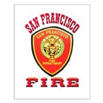 San Francisco Fire Department Small Poster