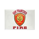 San Francisco Fire Department Rectangle Magnet (10