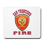 San Francisco Fire Department Mousepad