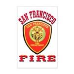 San Francisco Fire Department Mini Poster Print