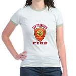San Francisco Fire Department Jr. Ringer T-Shirt