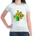 Butterfly Jr. Ringer T-Shirt