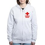 Orgasm Donor Women's Zip Hoodie