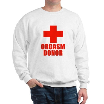 Orgasm Donor Sweatshirt
