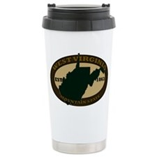 West Virginia Est. 1863 Ceramic Travel Mug