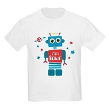 Robot 4th Birthday T-Shirt