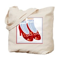 Red Ruby Slippers Tote Bag