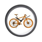 Cute Mountain biking Wall Clock