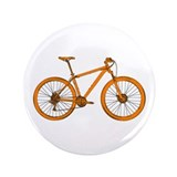 "Unique Mountain biking 3.5"" Button (100 pack)"
