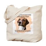 smart english foxhound Tote Bag