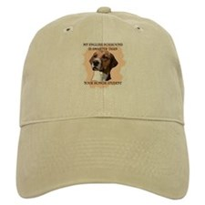 smart english foxhound Baseball Cap