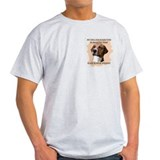 smart english foxhound Ash Grey T-Shirt