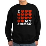I Love My Airman Jumper Sweater