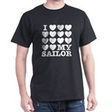 I Love My Sailor T-Shirt