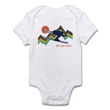 Ski Lake Tahoe Infant Bodysuit