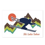 Ski Lake Tahoe Postcards (Package of 8)
