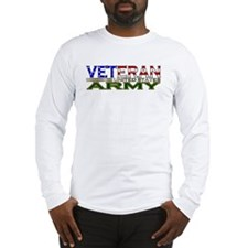 US Army Military Veteran Long Sleeve T-Shirt
