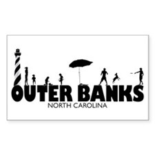 OUTER BANKS - family fun Decal